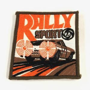 RALLY SPORTS ワッペン|minimaruyama