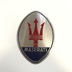 【現品】 MASERATI プレート 小|minimaruyama