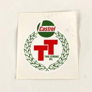カストロールTTステッカー|minimaruyama