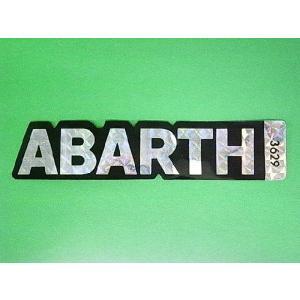ABARTH ステッカー|minimaruyama