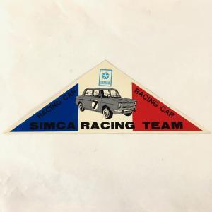 【現品】 SIMCA RACING TEAM ステッカー minimaruyama