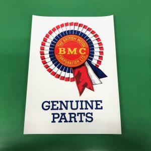 BMC GENUINE PARTS ステッカー|minimaruyama