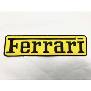 Ferrari ロングワッペン|minimaruyama