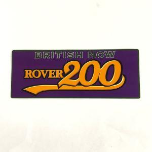 ROVER200 ステッカー パープル minimaruyama