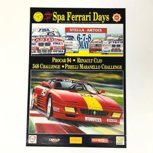 【現品】 Spa Ferrari Days ポスター|minimaruyama