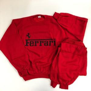 Ferrari ジャージ セット レッド |minimaruyama