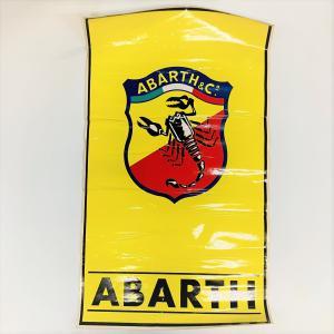 【現品】 ABARTH ステッカー 特大|minimaruyama