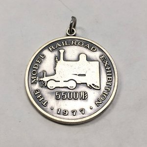 【現品】 1977 5500系 鉄道メダル minimaruyama