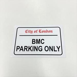 BMC PARKING ONLY ステッカー|minimaruyama