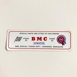 BMC ステージ3 ステッカー|minimaruyama