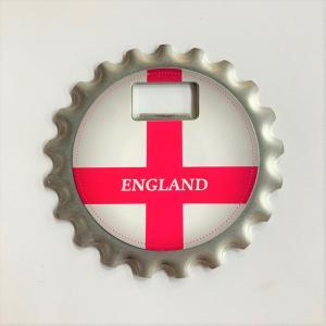 イングランド コースター&ボトルオープナー|minimaruyama
