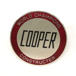 クーパーワールドチャンピオングリルバッジ minimaruyama