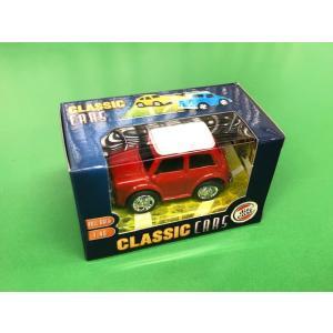 【現品】 CLASSIC CARS 1/48 die cast Mini プルバックカー minimaruyama