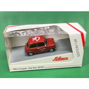 【現品】 Schuco 1/64 Mini Cooper Toy Fair 2018|minimaruyama