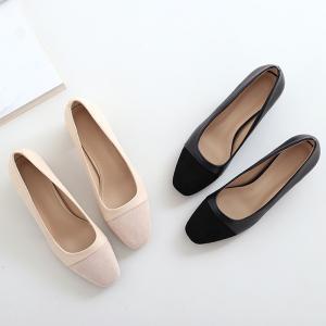 カラー:ブラック/薄ピンク 素材:合成皮革-合成底 サイズ:22.5cm(35)/23.0cm(36...