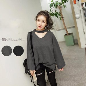 カラー:ブラック/グレー 素材:綿65%+ポリエステル35% サイズ:ワンサイズ 着丈:前約54cm...
