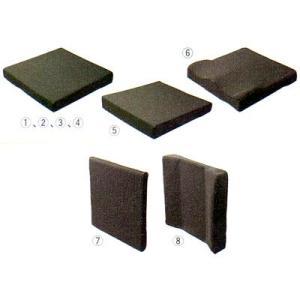 椅子用クッション (1)平タイプ 0607<豊通オールライフ>|miniroku