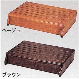木製玄関台 60W−40−1段 <アロン化成>|miniroku