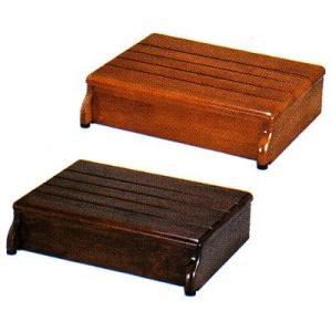 木製玄関台 45W−30−1段 535-544 <アロン化成>|miniroku