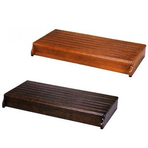 木製玄関台 90W−40−1段 535-590 <アロン化成>|miniroku