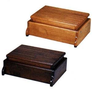 木製玄関台 S45W−30−1段 535-570 <アロン化成>|miniroku