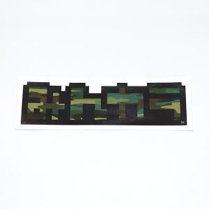 みんカラステッカー(大) 迷彩柄|minkara