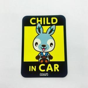 CHILD IN CAR マグネットステッカー|minkara