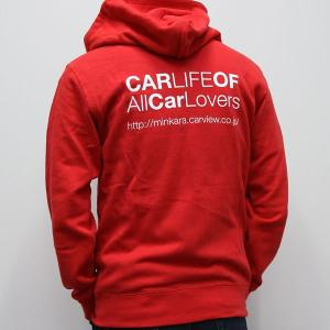 CARLIFEパーカー レッド|minkara