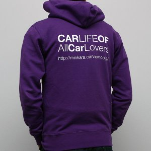 CARLIFEパーカー パープル|minkara