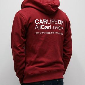 CARLIFEパーカー ワインレッド|minkara