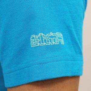 ミント刺繍入りポロシャツ ブリティッシュグリーン minkara 05