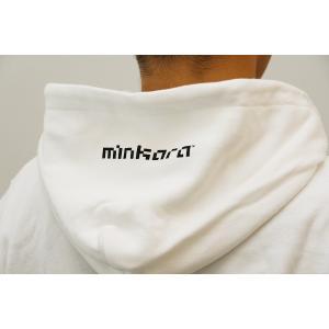 ハイオクマンタンパーカー【ジップ】 ホワイト|minkara|03