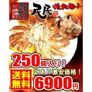 『民民の浜松餃子』超お得な250個入り!!|minmin