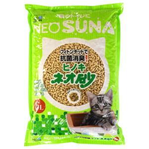 猫用/猫砂/可燃物ヒノキ ネオ砂 6L|minnaegao