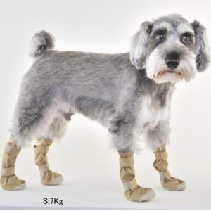 犬用 靴 雨  レインシューズ DOGブーツ 4本セット XS   メール便で送料無料|minnaegao