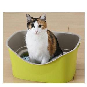 ボンビ ラクラク猫トイレ ダブルブロック W-BLOCK/猫用 トイレ本体 スコップ付き