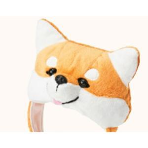 メール便送料無料 柴犬被り帽子 S(KWA008-S) お正月 被り物|minnaegao