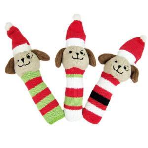 犬 おもちゃ X'mas クリスマスドッグ|minnaegao