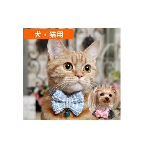 犬猫用 首輪 カラー PANOPLY ミニョンリボン・ネックレス ブルー ピンク  メール便対応|minnaegao