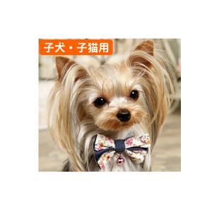 犬猫用 ベビーサイズ 首輪 カラー PANOPLY サリーデニム ネックレス  ブルー ピンク メール便対応|minnaegao