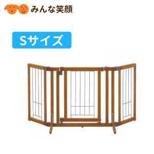 リッチェル ペット用木製おくだけドア付ゲート S ゲート 仕切り|minnaegao