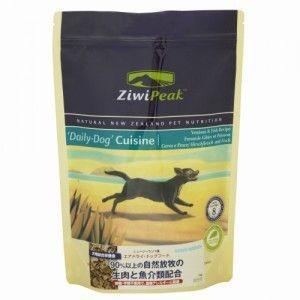 ☆ZiwiPeak ジウィピーク エアドライフード デイリードッグ ベニソン(鹿)&フィッシュ(魚)1kg犬用 フード|minnaegao