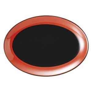 敦煌 9吋プラター 中華食器 プラター 楕円皿 20cm〜30cm 業務用 日本製 磁器 約23.2...