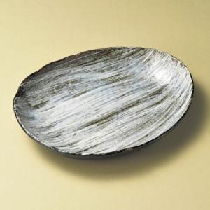 ・サイズ:25.5×21.5×4cm ・重量:650g  【和食器/皿皿/多用皿・変形皿/楕円皿】【...