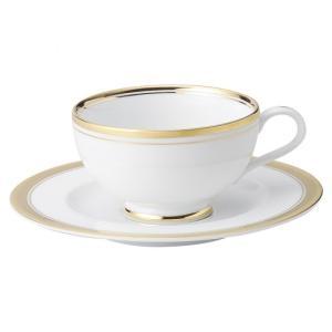ゴールドリッチ ウルトラホワイト 高台紅茶碗皿 洋食器 カップ&ソーサー 紅茶 業務用 約12.5cm|minnano-souko