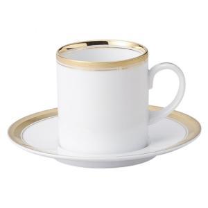 ゴールドリッチ ウルトラホワイト 切立コーヒー碗皿 洋食器 カップ&ソーサー コーヒー 業務用 約9.3cm|minnano-souko