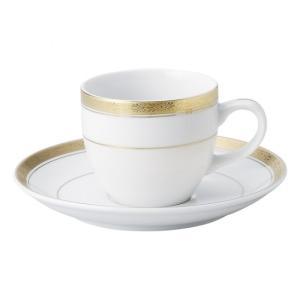 Y・Sゴールド コーヒー碗皿 洋食器 カップ&ソーサー コーヒー 業務用 約10.4cm|minnano-souko