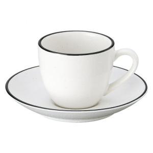 ホルス コーヒー白 カップ&ソーサー 洋食器 カップ&ソーサー コーヒー 業務用 約8.2cm|minnano-souko