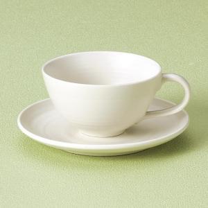 白コーヒー碗皿 和食器 コーヒー碗・受皿 業務用 約190cccm|minnano-souko