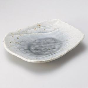 湖畔前菜皿 和食器 焼物皿 業務用 約21cm 和食 和風 焼魚 串物 揚げ物 創作料理